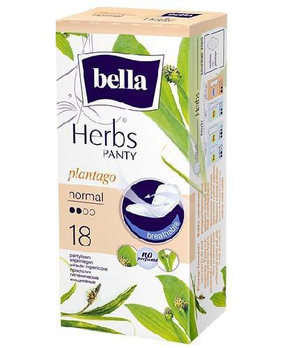 Bella Herbs Normal wkładki z babką lancetowatą 18 sztuk
