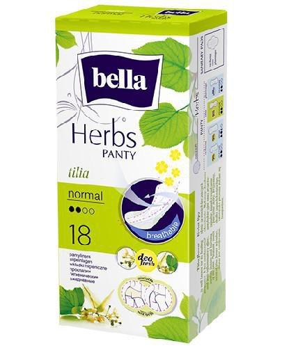 Bella Herbs Normal wkładki z kwiatem lipy 18 sztuk