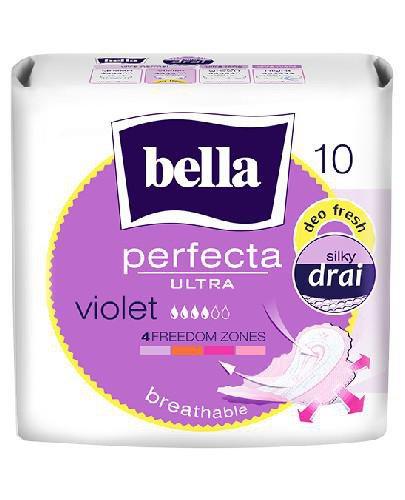Bella Perfecta Ultra Violet ultracienkie podpaski higieniczne 10 sztuk