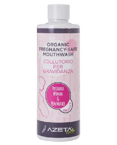 Azeta Bio organiczny płyn do płukania ust w ciązy z olejkiem Inca Inchi 200 ml [Data w...