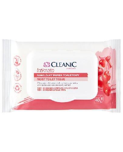 Cleanic Intimate Nawilżany papier toaletowy 40 sztuk