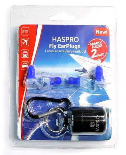 Zatyczki do uszu wielorazowe Haspro Fly Family Pack EarPlugs 2 pary