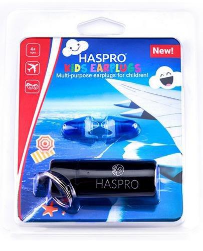 Zatyczki do uszu wielorazowe Haspro Fly Kids EarPlugs 1 para