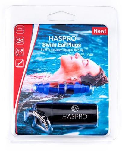 Zatyczki do uszu wielorazowe Haspro Swim EarPlugs 1 para