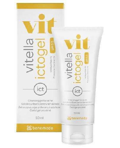 Vitella Ictogel żel oczyszczający dla cery trądzikowej 50 ml