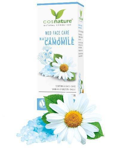 Cosnature Med Naturalny krem do twarzy z solanką i rumiankiem 50 ml