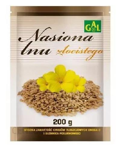 GAL Nasiona lnu złocistego 200 g