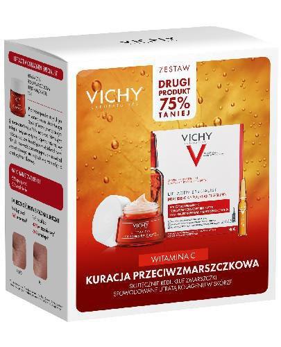 Vichy Kuracja przeciwzmarszczkowa krem przeciwzmarszczkowy na dzień 50 ml + ampułki Ant...