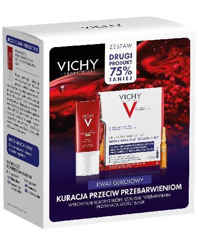 Vichy Kuracja przeciw przebarwieniom krem przeciwzmarszczkowy na dzień 50 ml + Ampułki p...