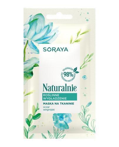 Soraya Naturalnie Roślinne wygładzenie maska na tkaninie 1 sztuka