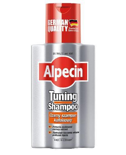 Alpecin Tuning czarny szampon kofeinowy 200 ml