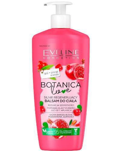 Eveline Botanica Love silnie regenerujący balsam do ciała Goji Granat Acerola 350 ml