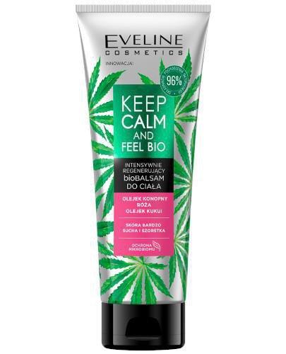 Eveline Keep Calm And Fell Bio Intensywnie regenerujący biobalsam do ciała 250 ml
