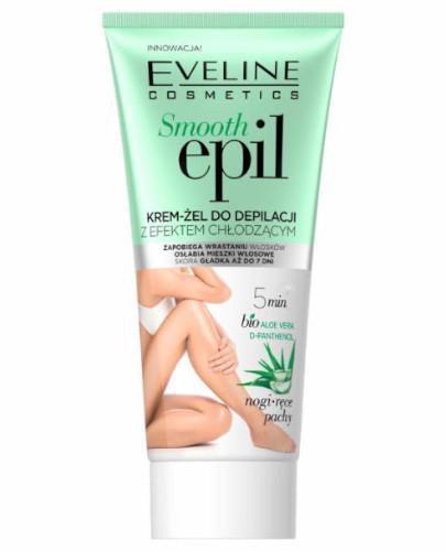 Eveline Smooth Epil krem-żel do depilacji z efektem chłodzącym 175 ml