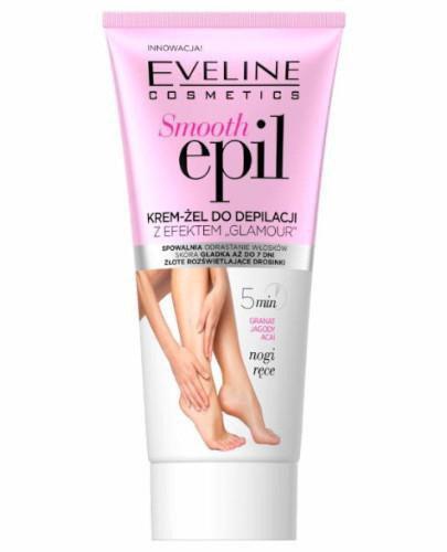 Eveline Smooth Epil krem-żel do depilacji z efektem Glamour 175 ml