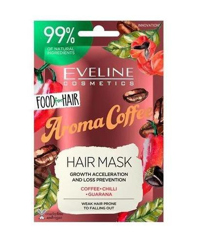 Eveline Food For Hair Aroma Coffee maska do włosów przyspieszanie wzrostu włosów i zap...