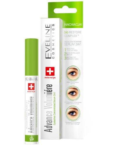 Eveline Advance Volumiere skoncentrowane serum do rzęs 3w1 10 ml