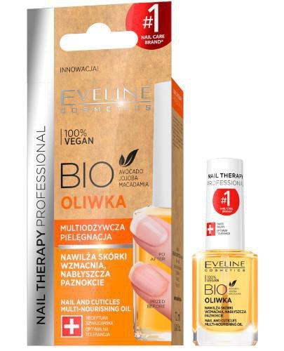 Eveline Nail Therapy Bio oliwka multiodżywcza pielęgnacja 12 ml