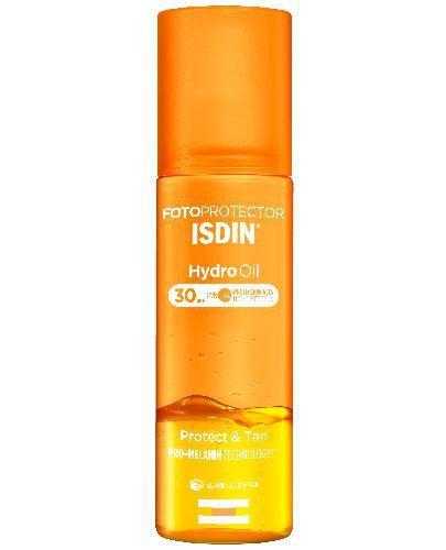 Fotoprotector Isdin Hydro Oil dwufazowy olejek do opalania SPF30 200 ml