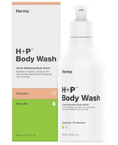 H+P żel konopny do mycia z CBD i probiotykami 300 ml
