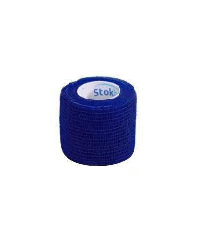 Stokban bandaż elastyczny samoprzylepny niebieski 7,5cm x 4,5m 1 sztuka