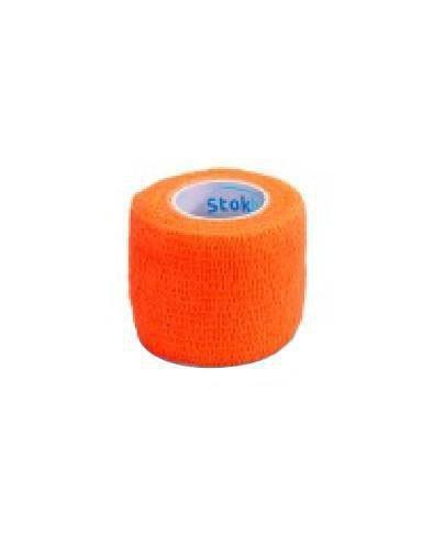 Stokban bandaż elastyczny samoprzylepny pomarańczowy 7,5cm x 4,5m 1 sztuka