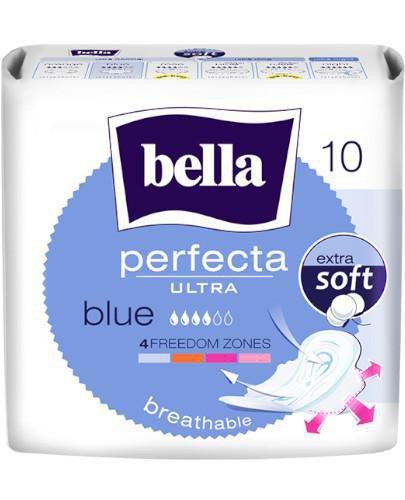 Bella Perfecta Ultra Blue podpaski ultracienkie z osłonkami bocznymi 10sztuk