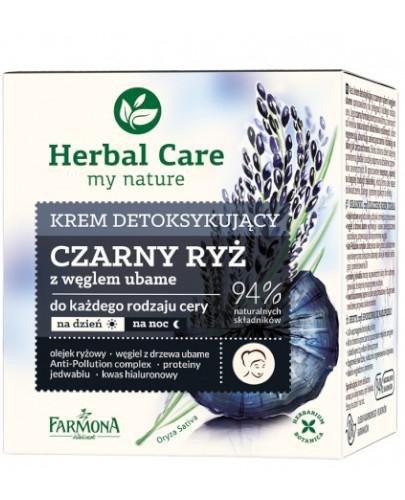 Farmona Herbal Care krem detoksykujący czarny ryż 50 ml