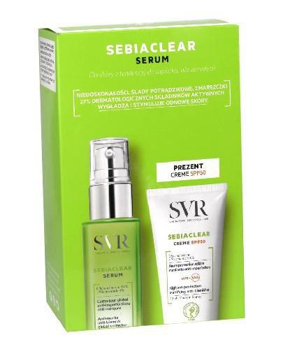 SVR Sebiaclear Serum przeciwzmarszczkowe 30 ml + Krem ochronny 50 ml [ZESTAW]