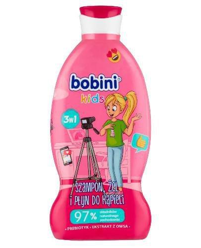 Bobini szampon, żel pod prysznic i płyn do kąpieli 3w1 Blogerka 330 ml
