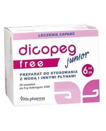 Dicopeg Junior Free od 6. miesiąca życia 30 saszetek