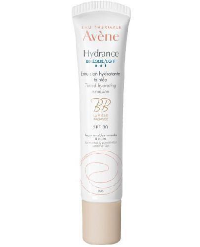 Avene Hydrance BB nawilżająca emulsja koloryzująca SPF30 40 ml  whited-out