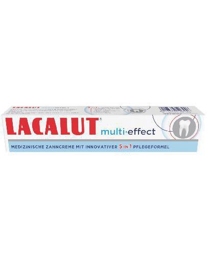 Lacalut Multi Effect pasta do zębów 75 ml
