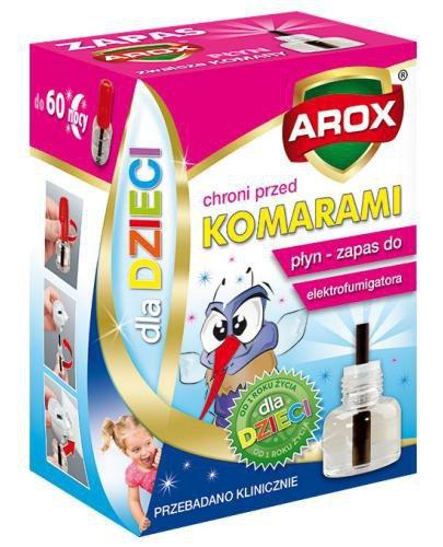 Arox Płyn zapasowy do elektrofumigatora dla dzieci 45 ml