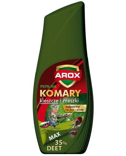 Arox Deet Max płyn na komary kleszcze i meszki 100 ml