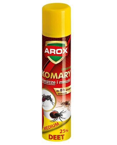 Arox Deet Medium spray na komary kleszcze i meszki 90 ml