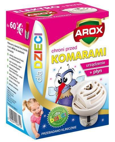Arox Elektrofumigator na komary dla dzieci 1 sztuka