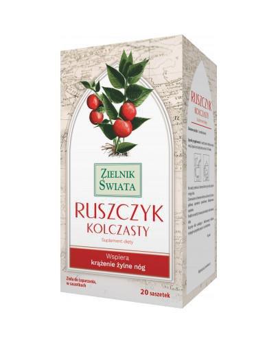 Zielnik Świata Ruszczyk kolczasty 20 saszetek