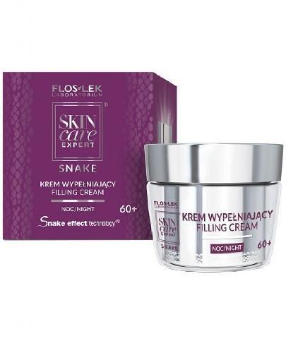 Flos-Lek Skin Care Expert Snake krem wypełniający na noc 50 ml