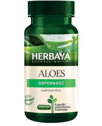 Herbaya Aloes Odporność 60 kapsułek