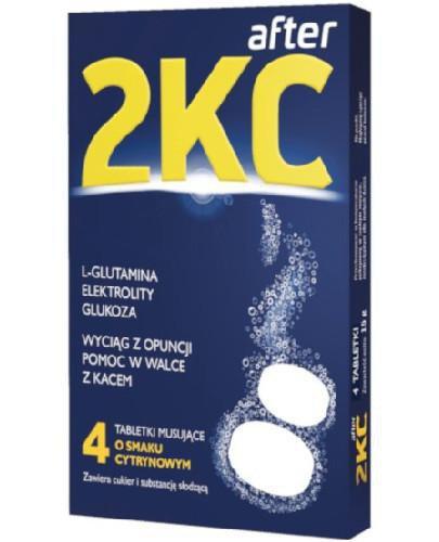 2KC After 4 tabletki musujące