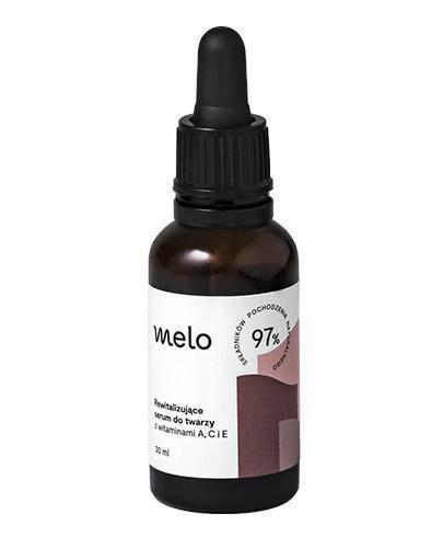 Melo rewitalizujące serum do twarzy z witaminami A,C i E 30 ml