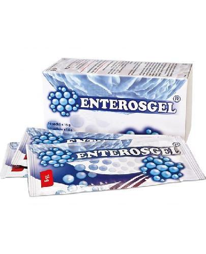 Enterosgel zawiesina doustna 10 saszetek po 15 g
