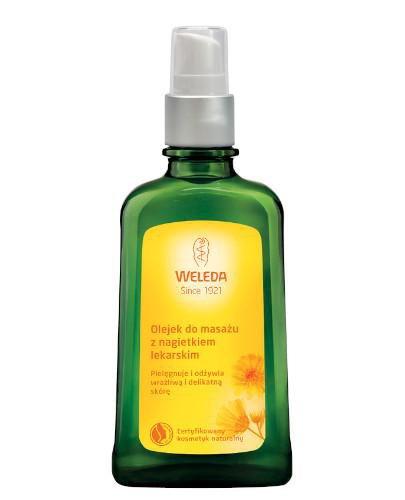 Weleda olejek do masażu z nagietkiem lekarskim 100 ml