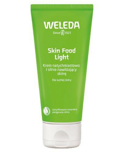 Weleda Skin Food Light krem natychmiastowo i silnie nawilżający skórę 30 ml