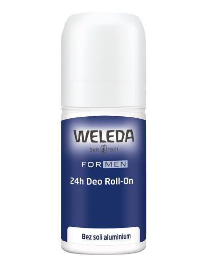 Weleda For Men dezodorant w kulce dla mężczyzn 24h 50 ml