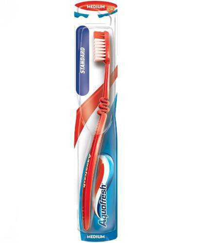 Aquafresh Standard szczoteczka do zębów medium 1 sztuka