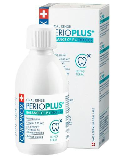 Curaprox Perio Plus Balance płyn do płukania jamy ustnej 200 ml