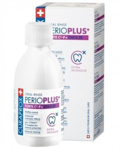 Curaprox Perio Plus Forte płyn do płukania jamy ustnej 200 ml