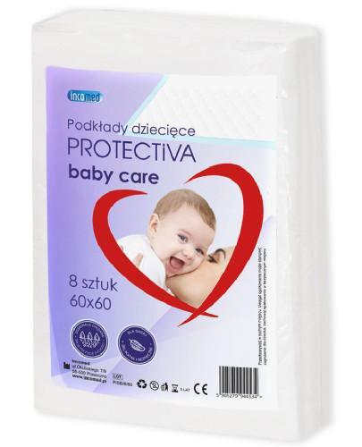 Protectiva Baby Care podkłady higieniczne 60x60cm 8 sztuk